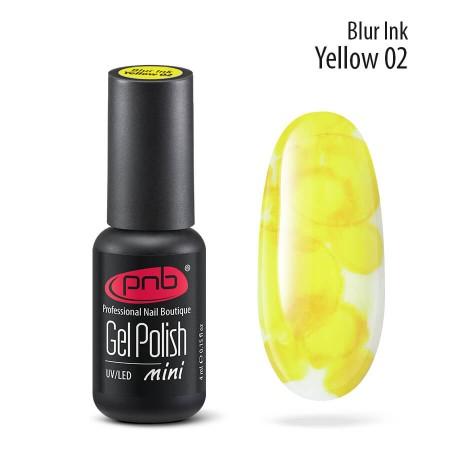 Акварельні краплі чорнила Blur 02 жовті 4 ml