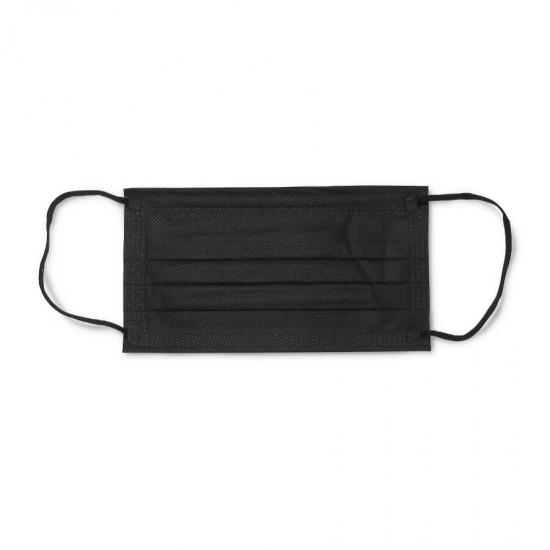Захисні маски для майстрів манікюру, чорні, 50 шт