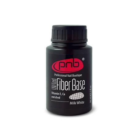 База з нейлоновими волокнами Fiber Base PNB, молочно біла, 30 мл