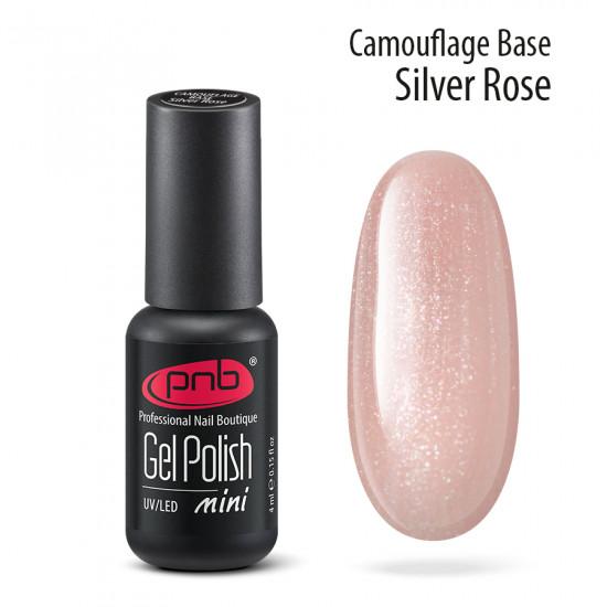 Камуфлююча база PNB, 4 мл, сріблясто-рожева