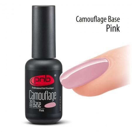 Камуфлирующая каучуковая база PNB, 8 мл, розовая