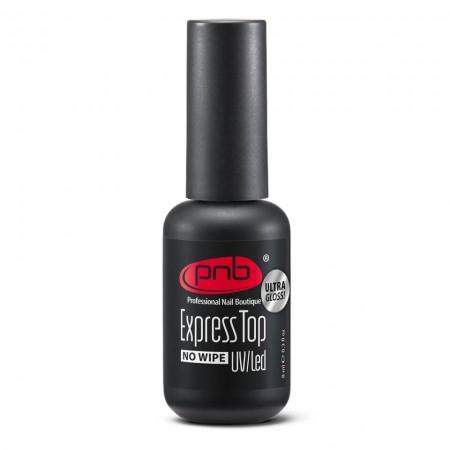 Экспресс-Топ без липкого слоя PNB 8 мл / UV/LED Express Top PNB