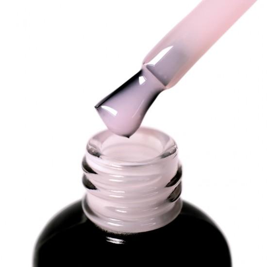 База з нейлоновими волокнами Fiber Base PNB, молочно рожева, 17 мл