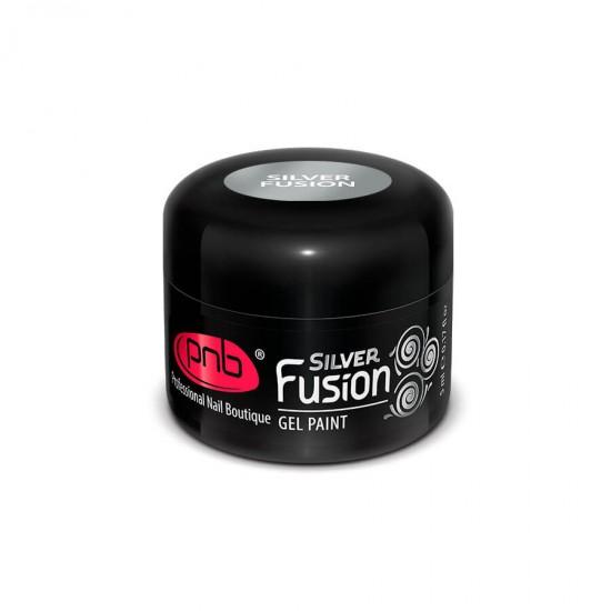 Гель краска PNB Silver Fusion, 5 мл