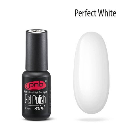Гель лак Perfect White PNB mini, 4 мл