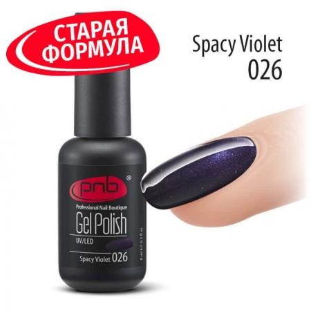 Гель лак PNB 026, 8 мл СТАРАЯ ФОРМУЛА