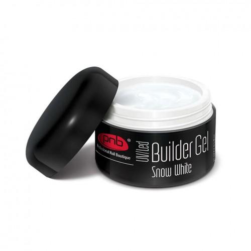 UV/LED Builder Gel Snow White 15 ml/Уф/лед  гель белоснежный белый 15 мл