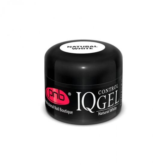 IQ Control Gel Natural White / Непрозрачный, натуральный белый гель PNB 5 ml