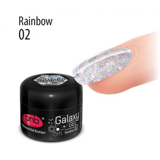 Galaxy Gel 02 Rainbow