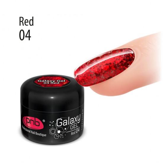 Galaxy Gel 04 Red