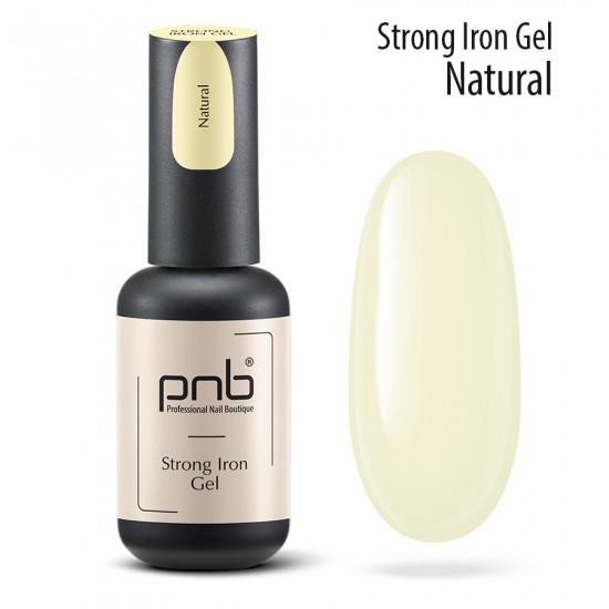 Гель-архітектор Strong Iron Gel Natural 8 мл