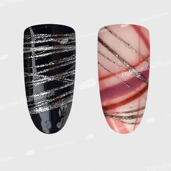 Гель паутинка серебро PNB / UV/LED Web Gel Silver