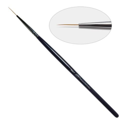 2D. Кисть для дизайна круглая 000-s PNB, нейлон / Nail Art Brush