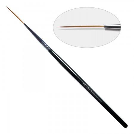 3D. Кисть для дизайна круглая 3-s PNB, нейлон / Nail Art Brush round 3-s, nylon