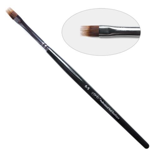 6D. Кисть для дизайна омбре  6-s PNB, нейлон / Nail Art Brush fork 6-s, nylon