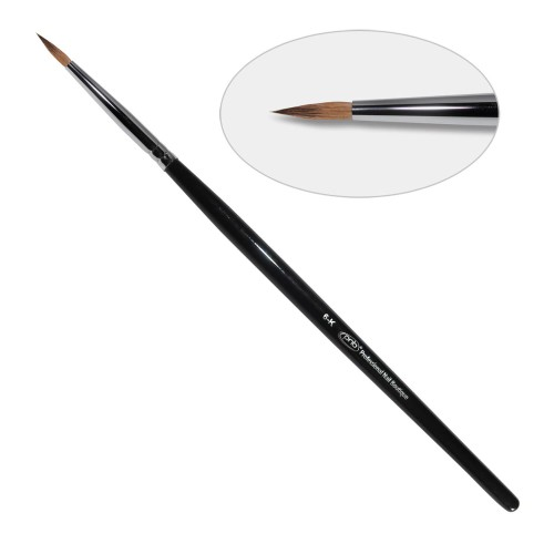 8D. Кисть для дизайна круглая 6-к 11mm PNB, колонок / Nail Art Brush