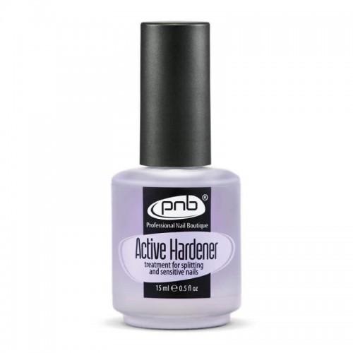 Active Hardener PNB, 15 ml / Средство для  укрепления ломких и слоящихся ногтей