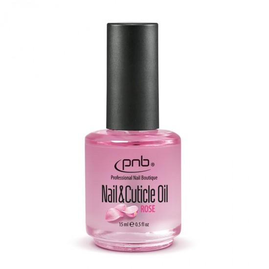 Nail&Cuticle Oil, Rose PNB, 15 ml