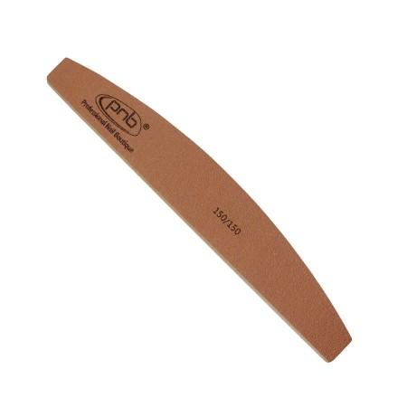 Пилка для нігтів PNB 150/150 Gold Brown, півколо