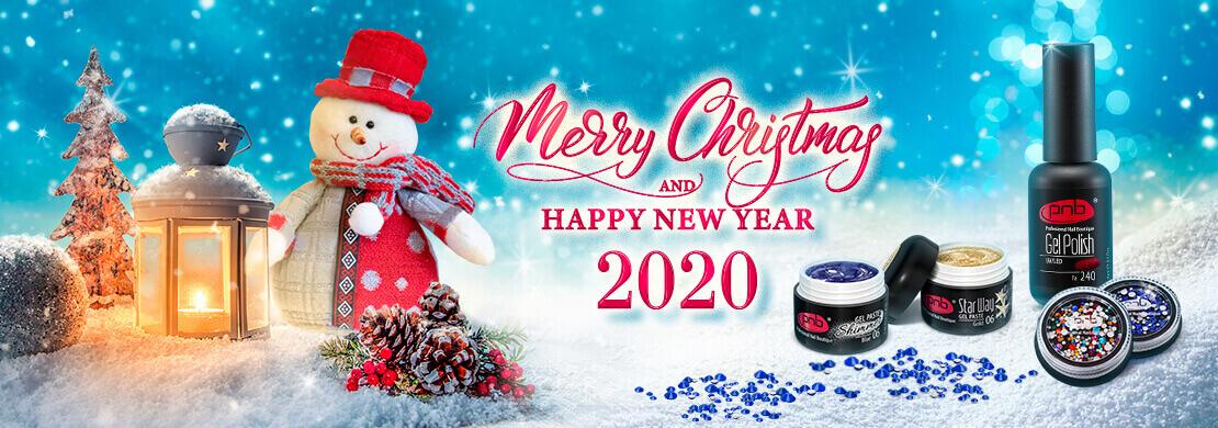 Компания PNB поздравляет с Новым 2020 годом и рождеством Христовым!