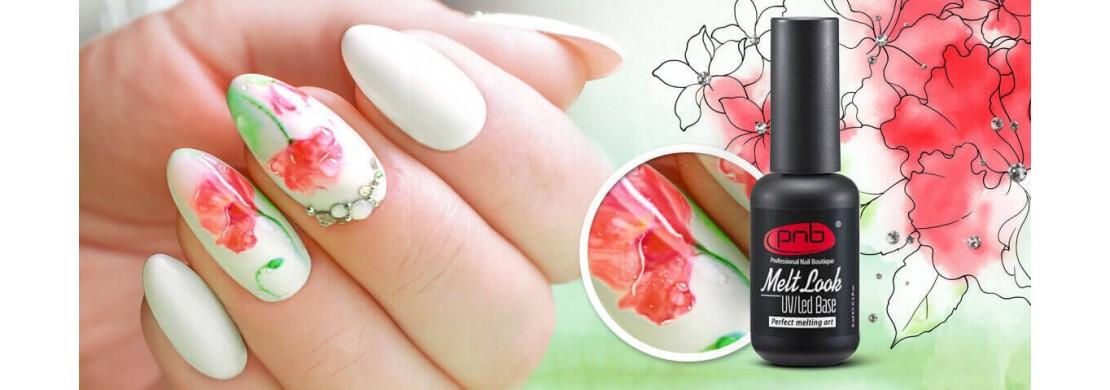 Дизайн ногтей по мокрому